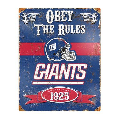 NFL New York Giants Vintage Sign