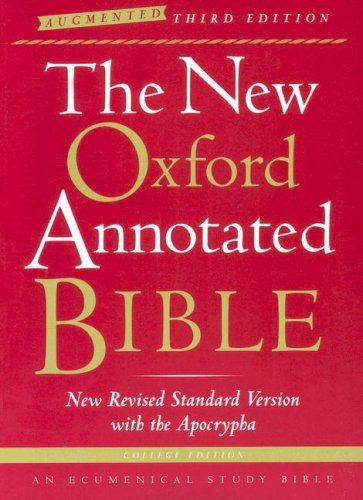 The New Oxford Annotated Bible with the Apocrypha,...