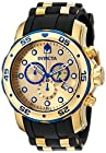 Invicta Men's 17887 Pro Diver Analog Display Swiss Quartz Black Watch