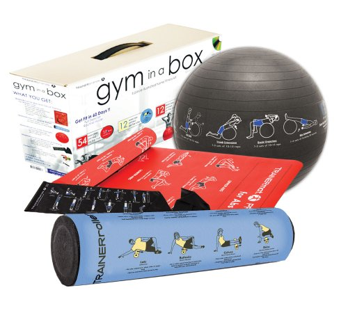 Gym In A Box Six-Piece Full-Body Workout Kit