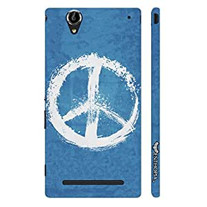Sony Xperia T3 Peaceful! designer mobile hard shell case by Enthopia