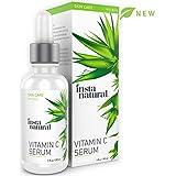 InstaNatural Vitamin C Serum for Face - Best Pure Vitamin C & Hyaluronic Acid Anti-Aging Liquid Facial Serum - With Organic Argan & Rosehip Oil, Vitamin E, Ferulic Acid & Seabuckthorn Oil - 1 OZ