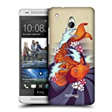 Head Case Orange Koi Fish Tattoo Inspired Hard Back Case Cover For Htc One Mini