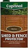 Cuprinol 5L Shed and Fence Protector - Gold Brown