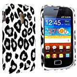 LEOPARD PRINT HARD BACK PROTECTION CASE COVER FOR SAMSUNG GALAXY ACE PLUS S7500