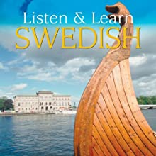 Listen & Learn Swedish (       UNABRIDGED) by Dover Publications Narrated by Dover Publications