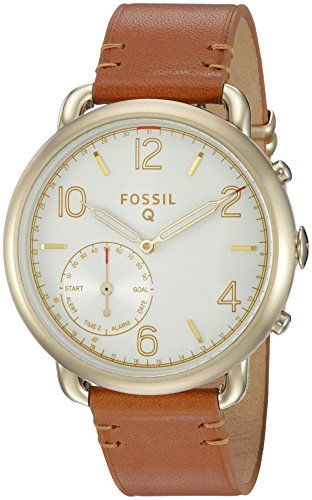 Fossil-Q-Tailor-Gen-2-Hybrid-Brown-Leather-Smartwatch