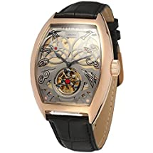 Forsining Men's Luxury Automatic Stainless Steel Wrist Watch FSG9409M3R2