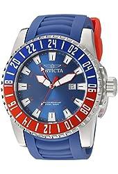 Invicta Men's 19679 Pro Diver Analog Display Swiss Quartz Blue Watch