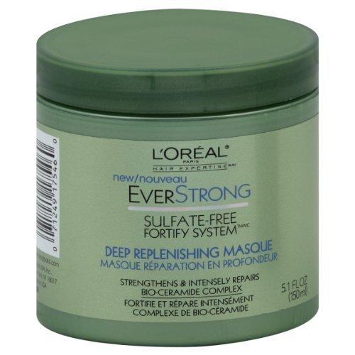 L'Oreal Paris Everstrong Deep Replenishing Masque, 5.1-Fluid Ounce