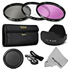 52MM Professional Lens Filter Accessory Kit for NIKON D7100 D7000 D5200 D5100 D5000 D3300 D3200 D3100 D3000 D90 D80 DSLR Cameras - Includes: Vivitar Filter Kits (UV