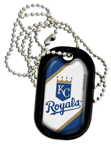 MLB Kansas City Royals Necklace Dog Tag at Amazon.com