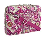 Vera Bradley Mini Laptop Case in Paisley Meets Plaid