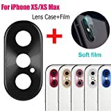 Sikye Metal Aluminum Rear Camera Lens Case Cover Protector Ring + Film for iPhone Xs/XS Max