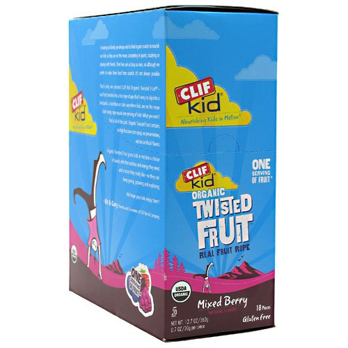 Clif Bar Clif Kids Twisted Fruit Mixed Berry
