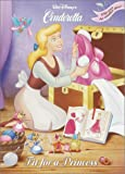 Fit for a Princess/Wedding Bells (Disney Princess) (Super Coloring Book)