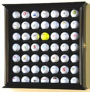 49 Golf Ball Display Case Cabinet Holder Rack w  UV Protection by sfDisplay
