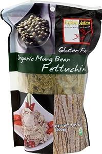Exas Fettuccine, Mung Bean, 7.05-Ounce (Pack of 6)