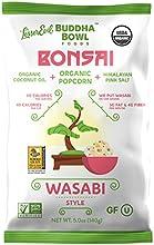 Lesserevil Buddha Bowl Foods Bonsai Wasabi Style Organic Popcorn 5 Ounce Pack of 12