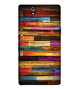 Print Haat Back Cover for Sony Xperia Z (Multi-Color)