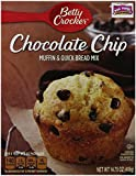 Betty Crocker Premium Muffin and Quick Bread Mix, Chocolate Chip,14.75-Oz Boxes (Pack of 12)