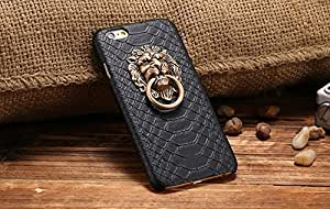 2016- Capa Sexy Snake Skin Phone Back Case For Apple iPhone 6 6S/For iphone 6 6S Lion Head Stand Cover