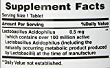 Natures Bounty Acidophilus Twin Pack, 100 Tablets (Packaging May Vary)