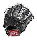 Rawlings(ローリングス) 軟式 ローリングスゲーマー DP [外野手用] GR6G8 ブラック [サイズ11] LH(Right hand throw)※右投用