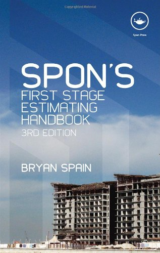 Spon's First Stage Estimating Handbook (Spon's Estimating Costs Guides), 3rd Edition