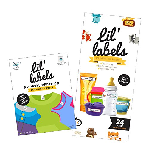 Daycare Value Pack - Write On Name Labels, Waterproof