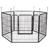 Proselect Empire Exercise Pens for Dogs and Pets - Graphite, 36