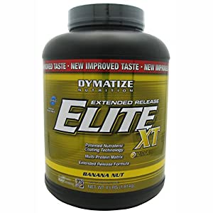 Dymatize Nutrition - Elite Xt Banana Nut, 4 lb powder