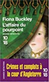 echange, troc Fiona Buckley - L'affaire du pourpoint