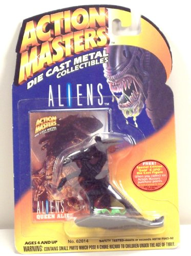 Action Masters Die Cast Metal Collectibles Aliens Alien Queen Figure