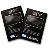 Lexerd - Archos 43 Internet Tablet TrueVue Crystal Clear MP3 Screen Protector (Dual Pack Bundle) ~ Lexerd