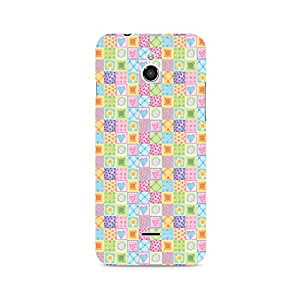 Ebby Abtract Heart Fusion Premium Printed Case For InFocus M2