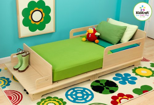 KidKraft Modern Toddler Bed - 1