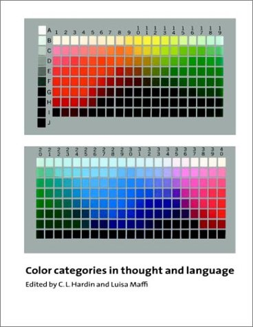 Color Categories in Thought and Language