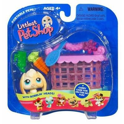 Buy Low Price Hasbro Littlest Pet Shop Pets On The Go Figure Floppy Bunny with Hutch (B000H6QGDC)