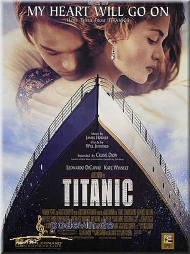 Celine Dion - My Heart Will Go On (from Titanic) - Klavier & Gesang Noten [Musiknoten]