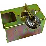 Cartrend 70138 Antivol de remorque avec fermeture à clé