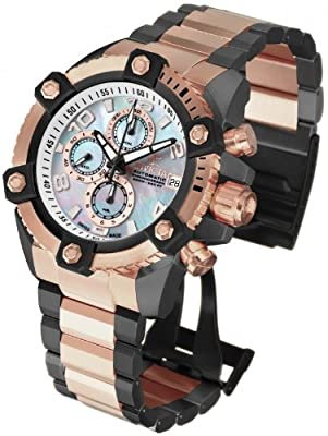 Invicta Mens Reserve Grand Arsenal Swiss Made A07 Automatic Chronograph SS Watch 13773
