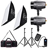 Neewer® 360W 5600K Photo Studio Monolight Strobe Flash Light Softbox Lighting Kit with Carrying Bag for Video Shooting,Location and Portrait Photography