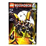Lego Year 2007 Exo-Force Series Mecha Vehicle Figure Set # 8105 - IRON CONDOR With Mechanical Wings Talons Firing...