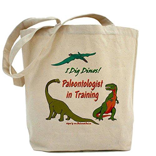 CafePress - Train Paleontologist Tote Bag - N…