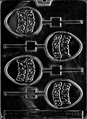 Cybrtrayd E170 Happy Egg Pop Chocolate/Candy Mold with Exclusive Cybrtrayd Copyrighted Chocolate Molding Instructions