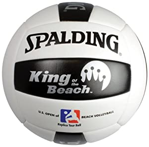 Buy Spalding 72-084 Replica Tour Volleyball of King of the Beach by Spalding