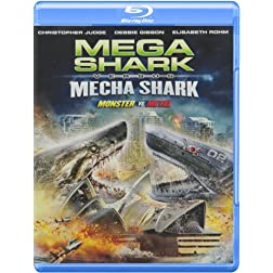 Mega Shark Vs Mecha Shark [Blu-ray]