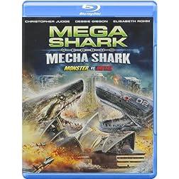 Mega Shark Vs Mecha Shark [Blu-ray]