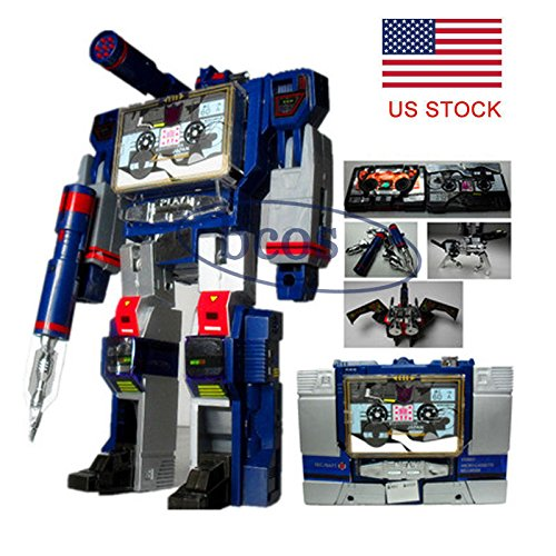 Transformers G1 Soundwave Decepticon 21cm Hot Action Figure Toys KO Box Package (Omega Supreme G1 compare prices)